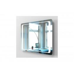 kopalniško ogledalo Omega 100 LED