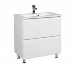 omarica z umivalnikom Akcent 80, talna