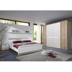 spalnica Elo hrast-bela