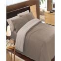premium posteljnina BROWN - BEIGE