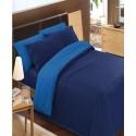 premium posteljnina DARK BLUE - BLUE