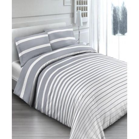 premium posteljnina STRIPES GREY