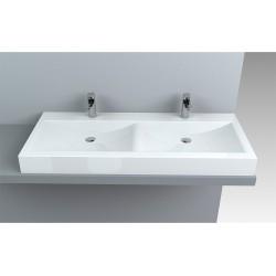 dvojni kopalniški umivalnik Jersey 120