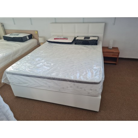 Komplet postelja Aurora box spring + Silver Deluxe 140 * 200