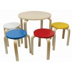 otroška mizica + 4 stoli Dance