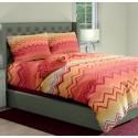 premium posteljnina SAMBA ORANGE