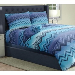 premium posteljnina SAMBA BLUE