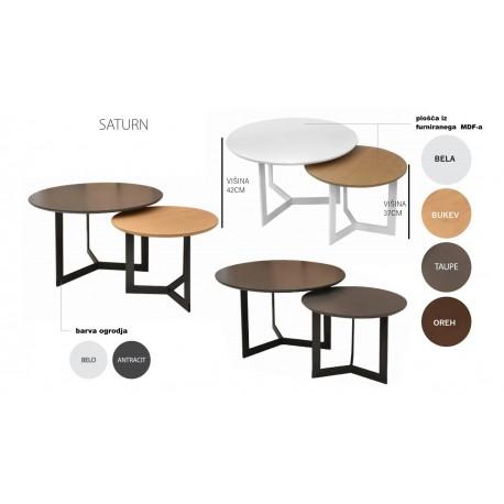 klubska miza Saturn 50