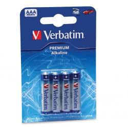 baterije Verbatim alkalne LR3 AAA 4pack