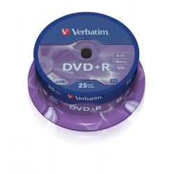 dvd+r medij Verbatim 25 na osi
