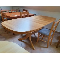miza Fortuna 130-2R bukev