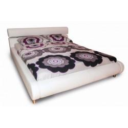 postelja Angie 140 * 200, bela ali rjava