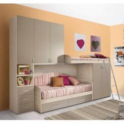 otroška soba Duetto, 3 barve