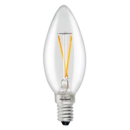 LED sijalka Technoware E14, 3w, 3000K evo.
