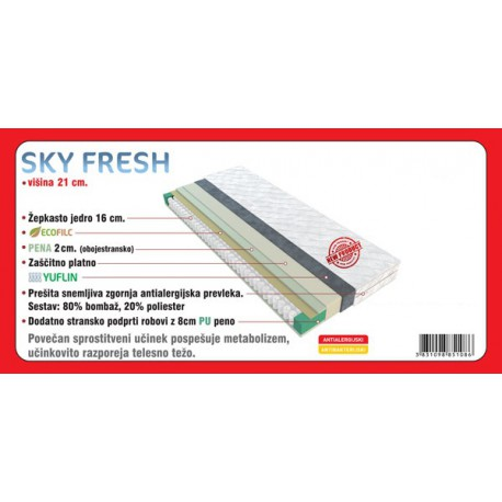 vzmetnica Sky fresh 200 * 90