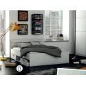 postelja Michigan 140 * 200 bela