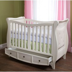 otroška posteljica Luka 120 * 60, bela ali krem