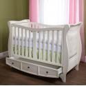 otroška posteljica Luka 140 * 70, bela ali krem