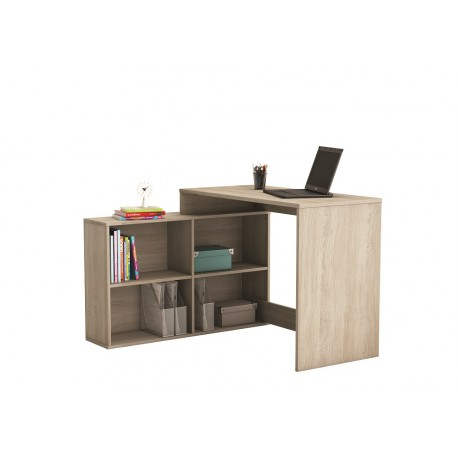 računalniška miza Corner, hrast ali bela
