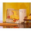OUTLET PONUDBA: otroška posteljica Planet s predalom