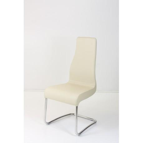 stol Miss, pravo usnje, 8 barv