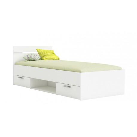 postelja Michigan 90 * 200 bela