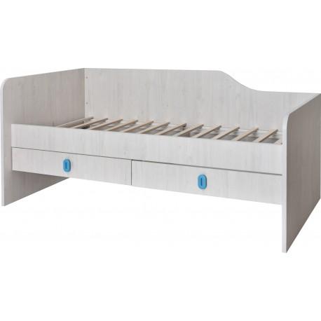 postelja Numero 2F leva, s predali