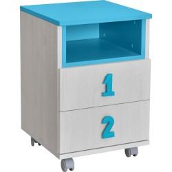 komoda Numero 2F, 5 barv
