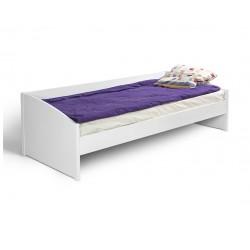 postelja Happy bok bela ali hrast