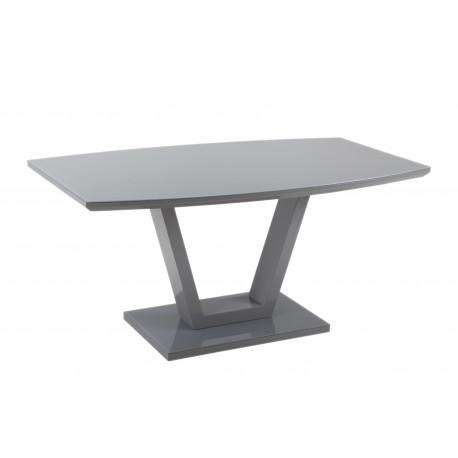 miza Ariano 160 * 90, bela ali siva