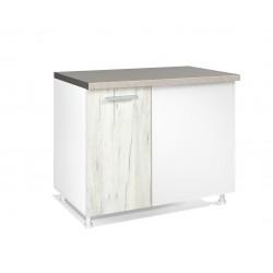 kuhinjska omarica spodnja Klasik DU100, 5 barv