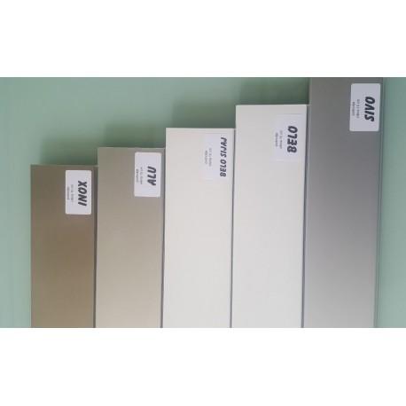 podnožje za kuhinjske omarice IN, 1m, bela ali siva