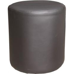 tabure Kerek PU, črn, bel ali siv