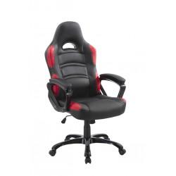 pisarniški stol Mavis, rdeče-črna kombinacija