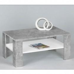klubska miza Clarus betonsko siva
