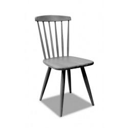 stol Colonial z lesenim sediščem