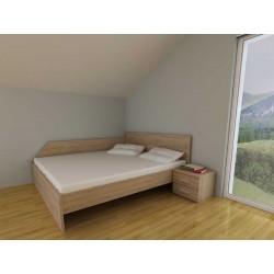 postelja Wall 140 * 200, 7 barv