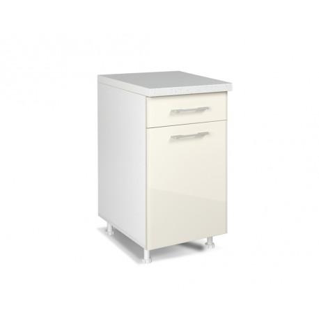 spodnja kuhinjska omarica IN MDF D40KF PL-BOX, 5 barv
