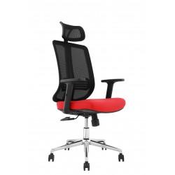 pisarniški stol Amanda rdeča ali modra