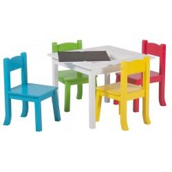 otroška mizica + 4 stoli Tinkers