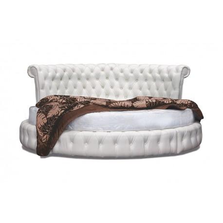 okrogla postelja Palma, več barv, komplet z vzmetnico