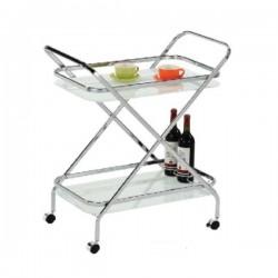 servirni voziček Clear