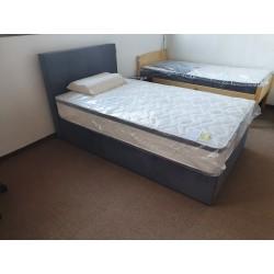 OUTLET PONUDBA: postelja Aurora 120 * 200, box spring + Silver deluxe