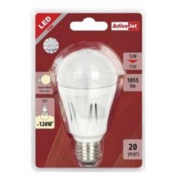 LED sijalka Activejet E27, 12w, 3000K