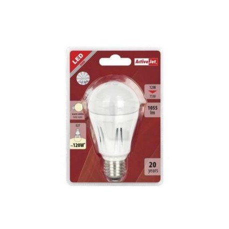 LED sijalka Activejet E27, 12w, 3000K