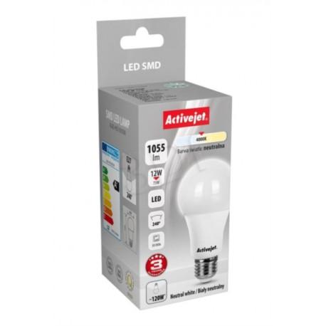 LED sijalka Activejet E27, 12w, 4000K