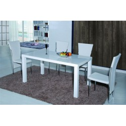 miza Bomba White 160 x 80