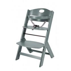 stolček za hranjenje Groony siv