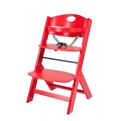 stolček za hranjenje Groony rdeč