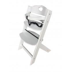stolček za hranjenje Groony beli